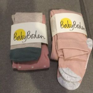 NWT(bundle) baby boden tights